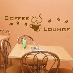 Wandtattoo Coffee Lounge