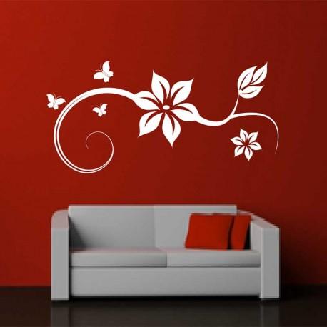 Wandtattoo Blütentraum