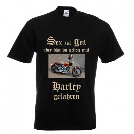 T-Shirt bedrucken | Sex ist geil