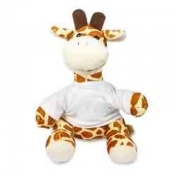 Giraffe mit Shirt zum Selbstgestalten