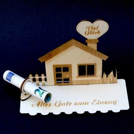 Geschenk zum Einzug / Hausbau