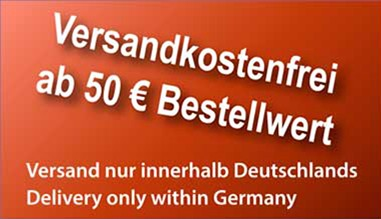 Versandkostenfrei ab 50 Euro